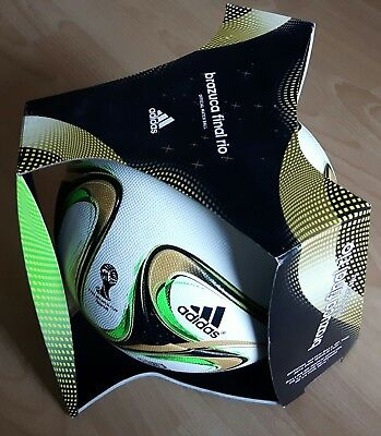 Brazuca Final Rio WM 2014 Brasilien Original Match Ball OMB OVP neu