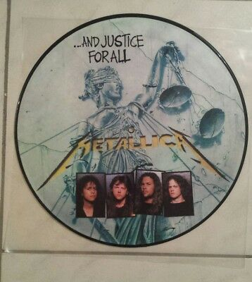Metallica ...and justice for all Picture Vinyl