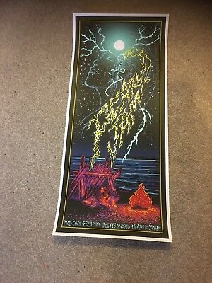 Pearl Jam Madrid Show Edition Poster Brad Klausen Mad Cool Festival