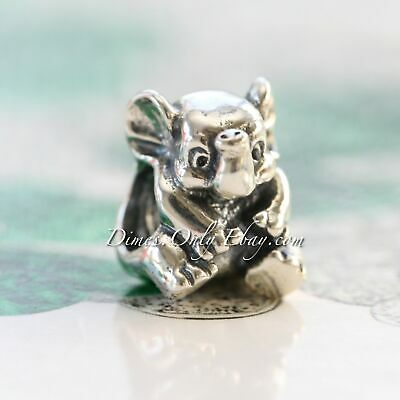 Authentic Pandora Sterling Silver Lucky Elephant Charm 791902