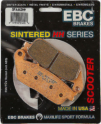 Kymco Downtown 300i ABS 2010 - 2015 EBC FRONT Sintered Disc Brake Pads SFA142HH