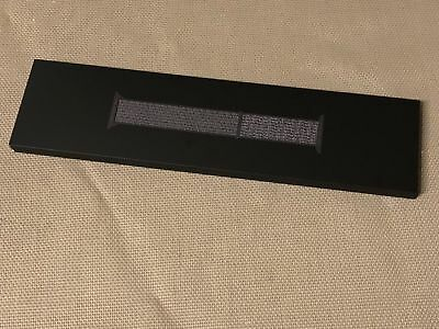 Original Apple Watch 44mm / 42mm Schwarz Nike+ Sport Loop Black Series 4 Band