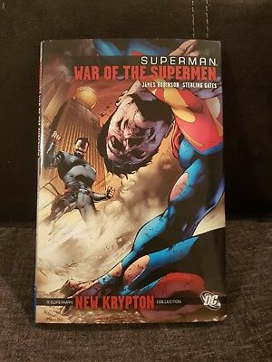 SUPERMAN: War of the Supermen by James Robinson. Hardcover RARE BARGAIN OOP
