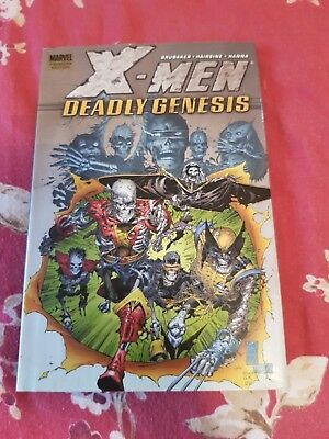 X-MEN: Deadly Genesis by Marvel Comics (Hardback, 2006) BARGAIN RARE OOP