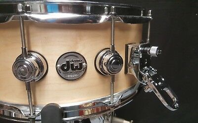 "DW USA Collector's Series Satin Oil Snaredrum in ""Satin Natural""  -  14x6"""