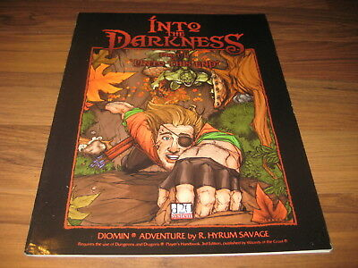 Into the Darkness Adventure 2001 Otherworld Creations OWC2001 Softcover d20