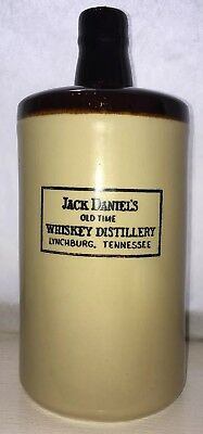 Collectible! Jack Daniels Old Time Whiskey Distillery Lynchburg Tennessee Jug