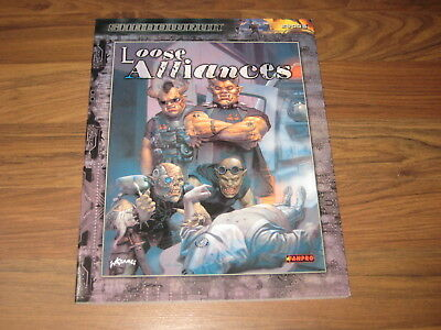 Shadowrun 3rd Edition Loose Alliances Sourcebook Softcover FanPro 2005
