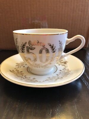 Napcoware Tea Cup And Saucer