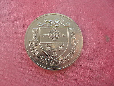 Sheffield Utd F.a. Cup Centenary 1872-1972  Silver Coloured Medal Token Coin