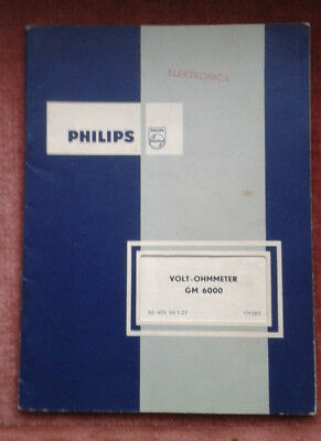 Bedienungsanleitung Multimeter Philips GM 6000