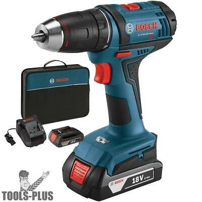 "Bosch DDB181-02 18-Volt Lithium-Ion 1/2"" Compact Tough Drill/Drive Kit New"