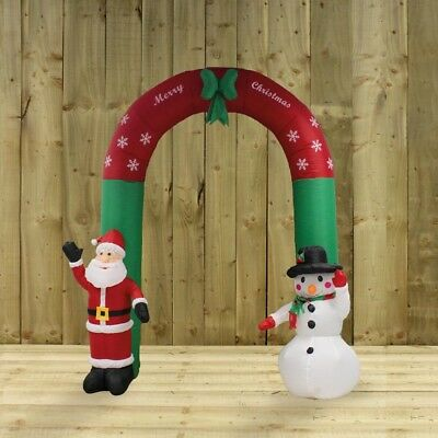 Inflatable Christmas arch