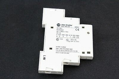 Allen Bradley Auxiliary Contact 140-A11, Series C,  Warranty