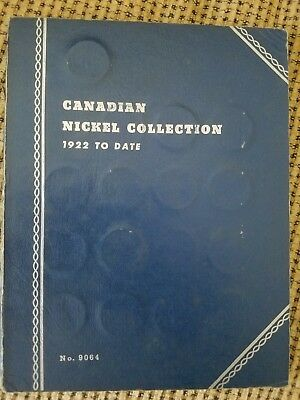 Canadian Nickel Collection 1922-1960 less 1925, 1926 far 6