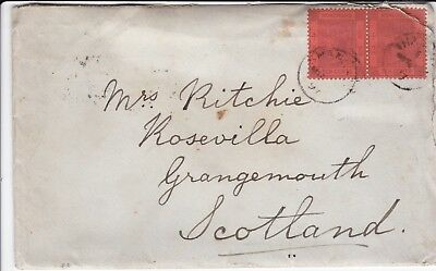 Hong Kong 1897 Letter & Cover On Board S.s. Suivo, Shanghai, 20C Franking To Gb