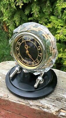 Beautiful Antique Vintage USSR Russian Mantle Clock In Working Order *