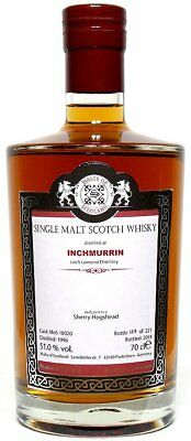 Inchmurrin 1996/2018 Sherry Hogshead Single Malt Scotch Whisky MoS 0,7 l 51,0%