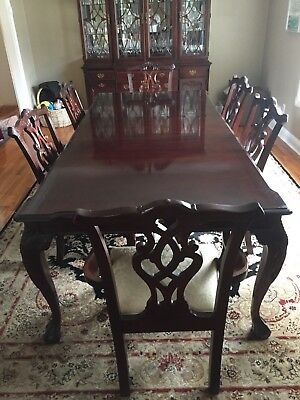 Dining Room Suite, Stanley, Stoneleigh Mahogany 60th Anniversary Commemorative