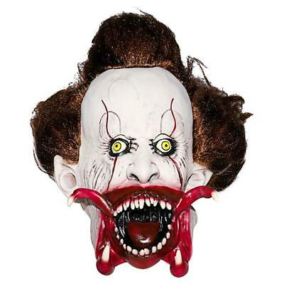 Halloween Pennywise Clown Mask Full Over The Head Latex Rubber Mask