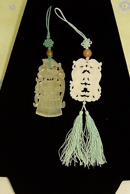 Chinese Carved Jade Pieces Ornaments Pendant Crafts Pulls