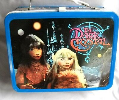 The Dark Crystal metal lunchbox with thermos-by Henson Associates 1982