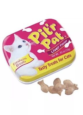 Pit-R-Pat Breath Fresheners For Cats .43Oz 12/Pkg Exp 01/2021