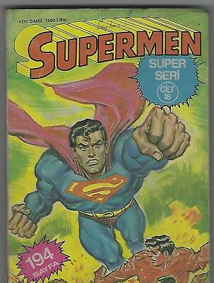 Superman #18 Dc Turkey Bronze Age Comic Book Very Rare