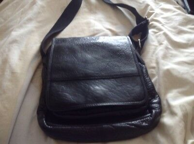 most popular lowest discount beauty MARKS AND SPENCER Black Leather Cross Body Bag Vgc - £1.50 ...