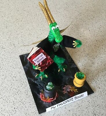 Harry Potter Wizard Themed Beaded Dragon Handcrafted Sculpture 2