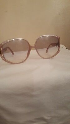 Vintage 1980's Christian Dior Butterfly Sunglasses