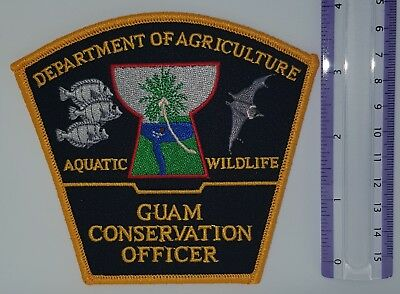 Guam Conservation Officer Patch