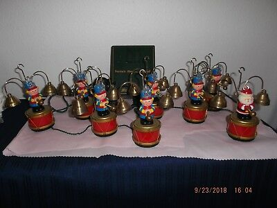 Vintage 1991 Mr. Christmas SANTA'S MARCHING BAND Musical Decoration - Works