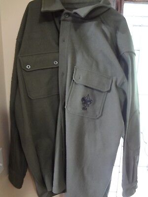 Boy Scout Adult Leader GREEN Wool Jacket 3XL