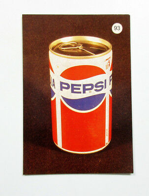 PEPSI Soda Pop Soft Drink Can 1988 Taschenkalender Pocket Calendar