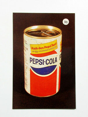 PEPSI COLA Germany Soda Pop Soft Drink Can 1988 Taschenkalender Pocket Calendar