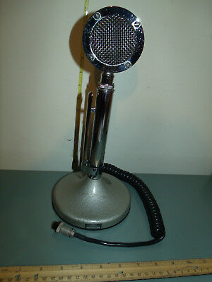 Vintage Astatic Lollipop Microphone Model D-104 with T-UG8 Stand