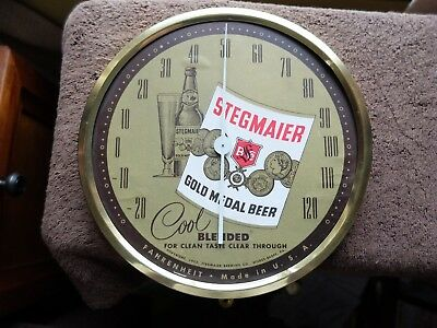 Stegmairer Beer Thermometer 1953