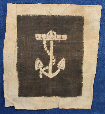 Original Vintage Civil War U.s. Navy Coxswain Un-Issued