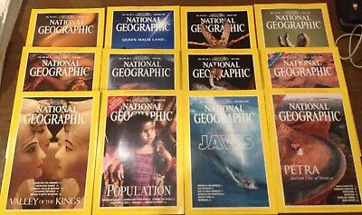 National Geographic Magazines - 1998 - American Edition