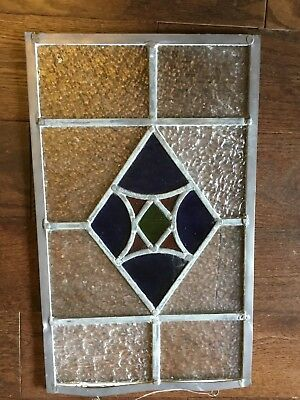 4 Stained Glass Window Panels