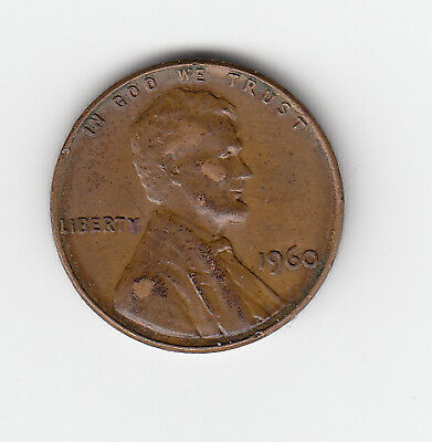 1960 Usa 'lincoln' One 1 Penny/cent - Very Nice Vintage Coin