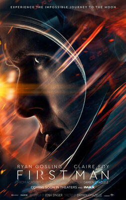 First Man Advance A  Double Sided Original Movie Poster 27x40 inches