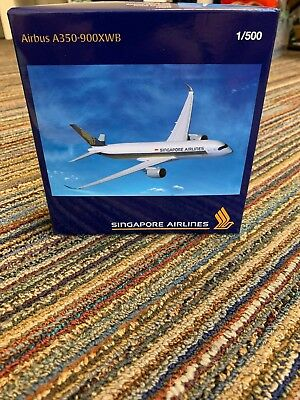Herpa Singapore Airlines 1:500 A350-900