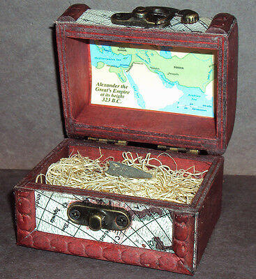 Ancient Greek Bronze Arrowhead with Display Chest! From 300 - 100 B.C.