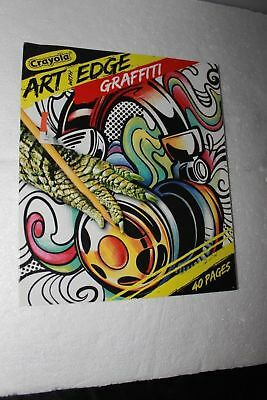 CRAYOLA ART WITH Edge Graffiti Coloring Pages New 2