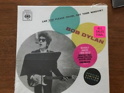 Can You Please Crawl Out Your Window? [Single] by Bob Dylan (Vinyl, Nov-2011,...