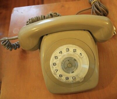 Collectible retro Telecom STC Dial phone 1982