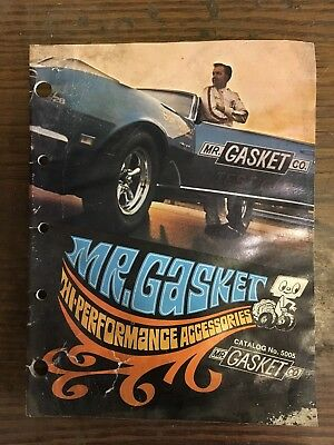 MR GASKET CO.  High Performance Accessories catalog 1969 / 1970