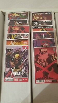 Wolverine & The X-Men 2nd Series #1-12 Complete Set (Marvel) condition VF-NM